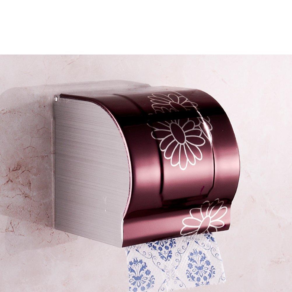 Stainless steel toilet tissue box/ toilet tissue paper holder/Box/Waterproof toilet paper box/ toilet roll holder-D