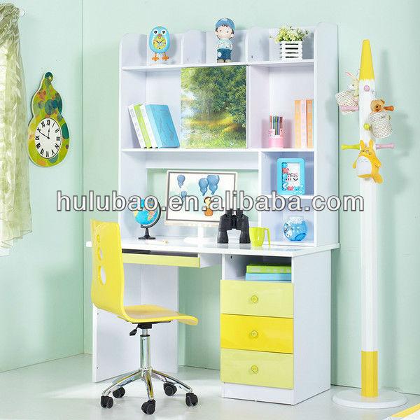 961 Children Kids Modern Study Desk With Cabinet/shelf/drawer/bookcase  Computer Desk Writing Desk In Kids Bedroom Sets Furniture - Buy Modern  Design ...