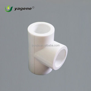 Pipe Fittings PP-R Green Plastic Connectors PPR Equal Tee