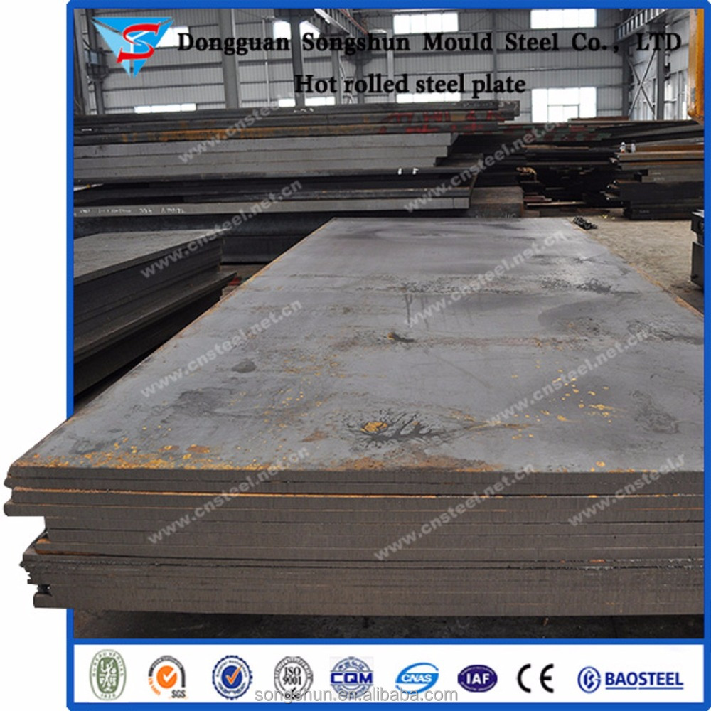 Carbon Structural Steel A36 Steel Sheets SS400 Flat Steel