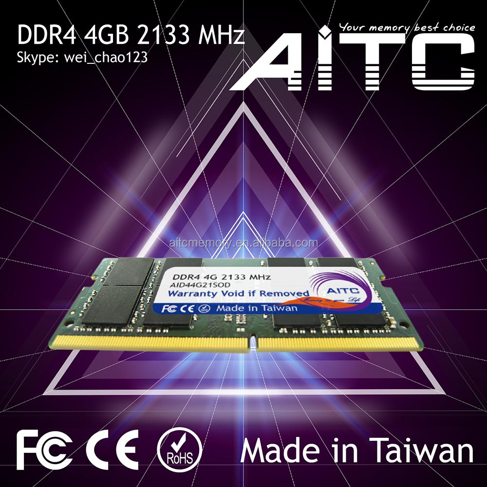 Best selling AITC ddr4 motherboard 2133mhz 4gb memory ram