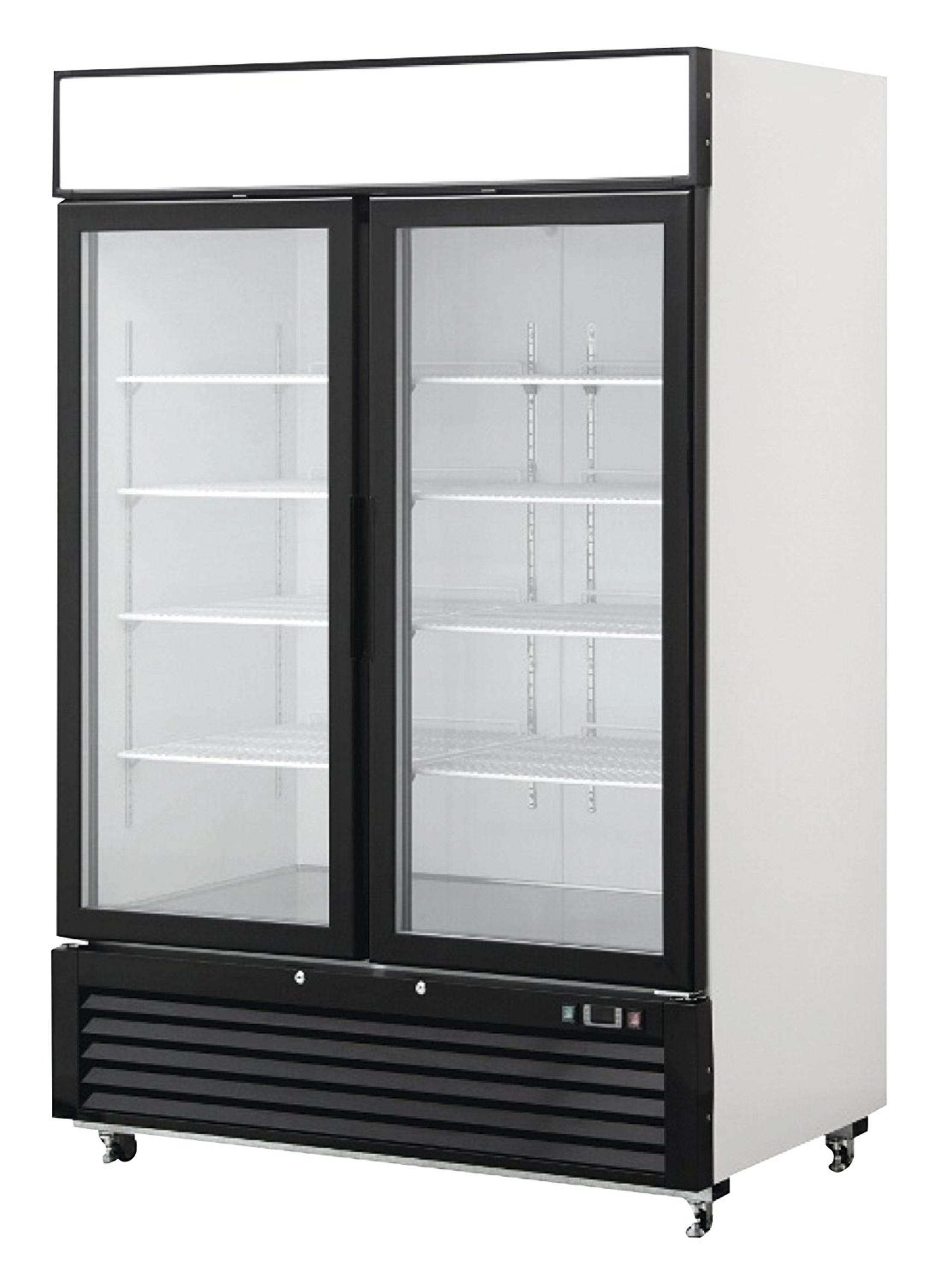 1500L Supermarket Three Glass Door Cold Storage Drinks Beverage and Beer Display Fridge