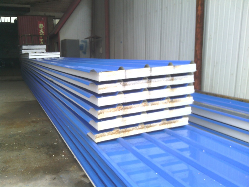 Insulated Aluminum Zinc Metal Sandwich Panel Buy Folding