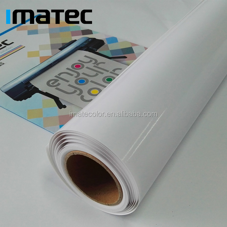 Wide Format 190gsm Microporous RC Glossy Photo Paper Roll for Pigment Ink Printing