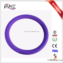 colorful non-toxic heat resistant odorless silicone steering wheel cover
