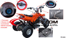 best cheap pink kids atv from China electric quad bike factory