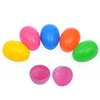 plastic bright egg assorted colors cheap easter egg decoration wholesale easter eggs party decoration