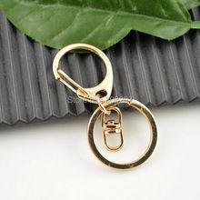 DIY 50Sets 14K Gold Lobster Clasps Swivel Trigger Clips Snap Hooks Bag Key Ring