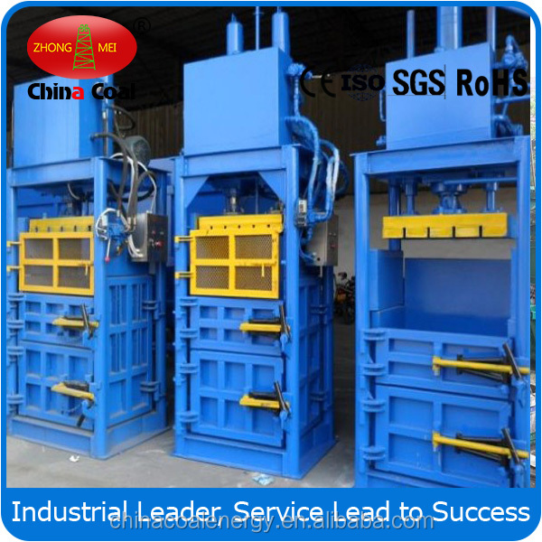 alibaba china Waste Paper And Cardboard Press Bundling Machine,hydraulic press packager