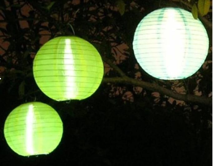 Energy saving Solar Powered Chinese Lantern Garden Party Festival Decoration Yard LED light 86548 86550