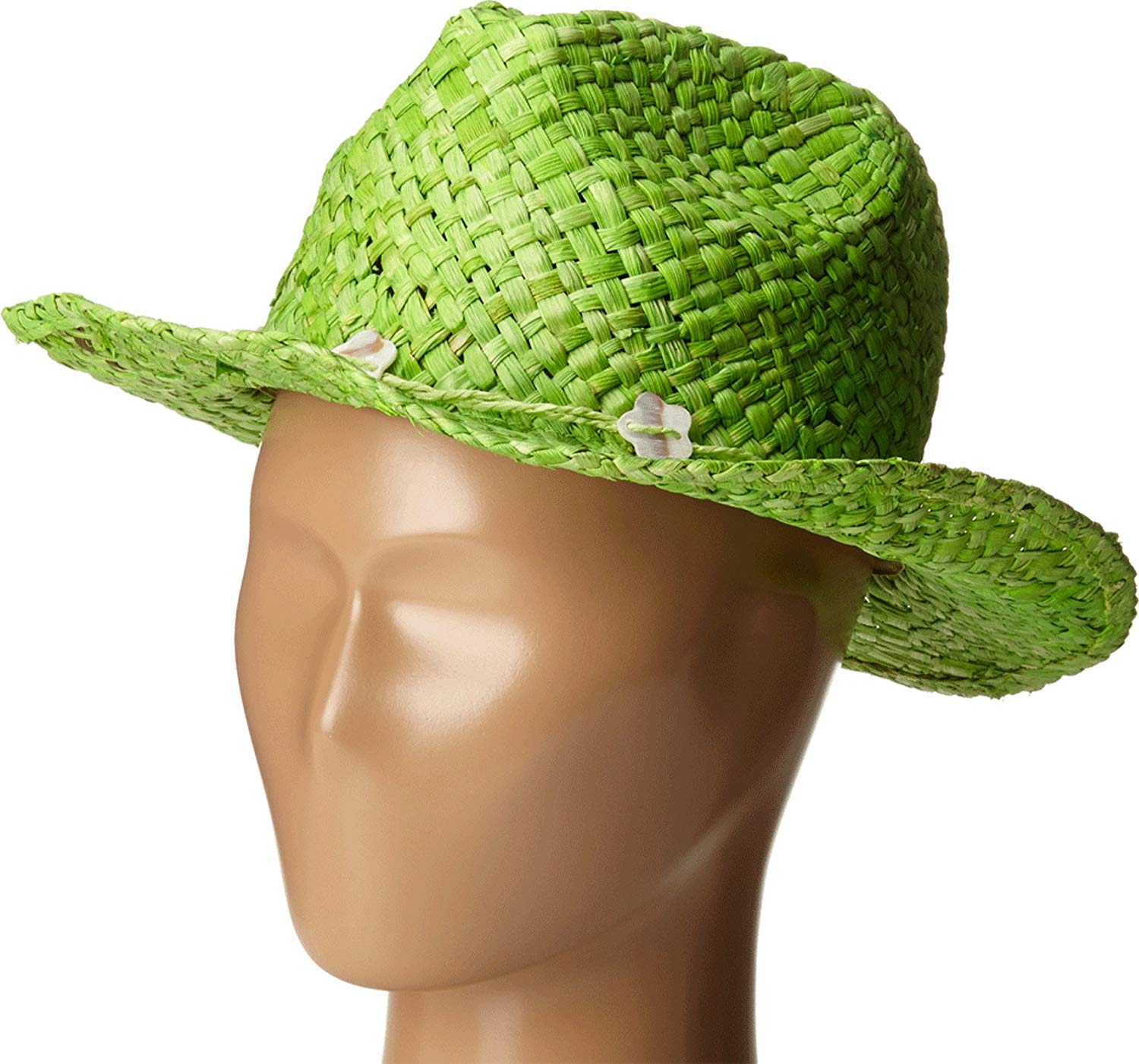 427752ba Buy Panama Jack Womens Maize Outback Cowboy Beach Hat with Shells in ...