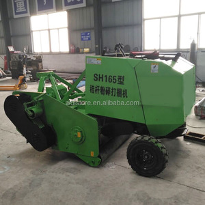 Multi-function tractor mounted round corn stalk bundling machine,hay baler