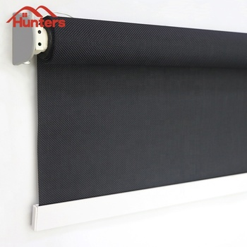 Remote control Window roller shades/ Motorized Sunscreen Window roller blinds