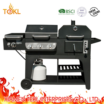 Bbq Grill Gas And Charcoal Combo For Whole