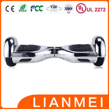 CE UL2272 36v Voltage and 2-3 Charging Time chrome hoverboard shell