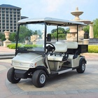 Factory price CE certificate 4 Wheel Drive Electric Mini Golf Cart with cargo box
