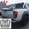 Auto pickup accessories tail light cover tail lamp cover for navara np300 2014 2015 2016