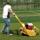 SD1 80 cm Single Cylinder Outdoor Petrol Artificial Grass Turf Sweeper