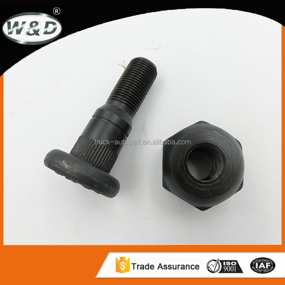 wheel hub bolt size with nut used for toyota auto parts module to wheels bearings