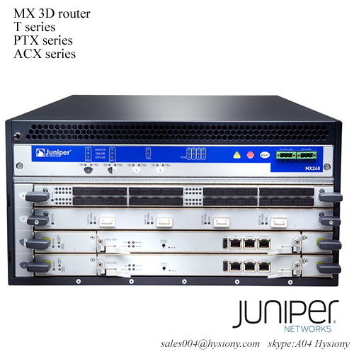 MX240BASE3-DC Juniper MX240 Base Bundle, DC power