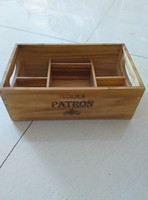 Wooden multifunctional desk box for Flowers / Plants / Jewelry / Supplies