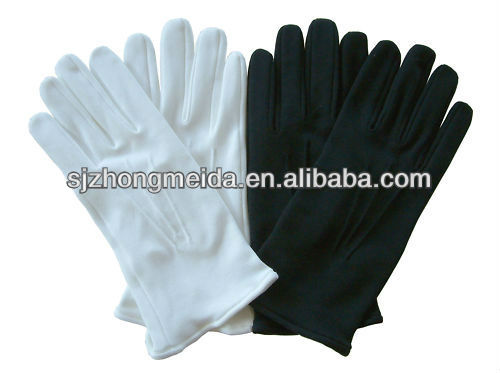 Guard uniform men women dress cotton gloves military band cotton gloves  army gloves 69287599dc4