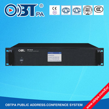 Obt-9928 Professional Digital Ip Pa Terminal Controller/ip Network Audio  Adapter - Buy Digital Ip Pa System,Ip Pa Terminal Controller,Ip Network  Audio