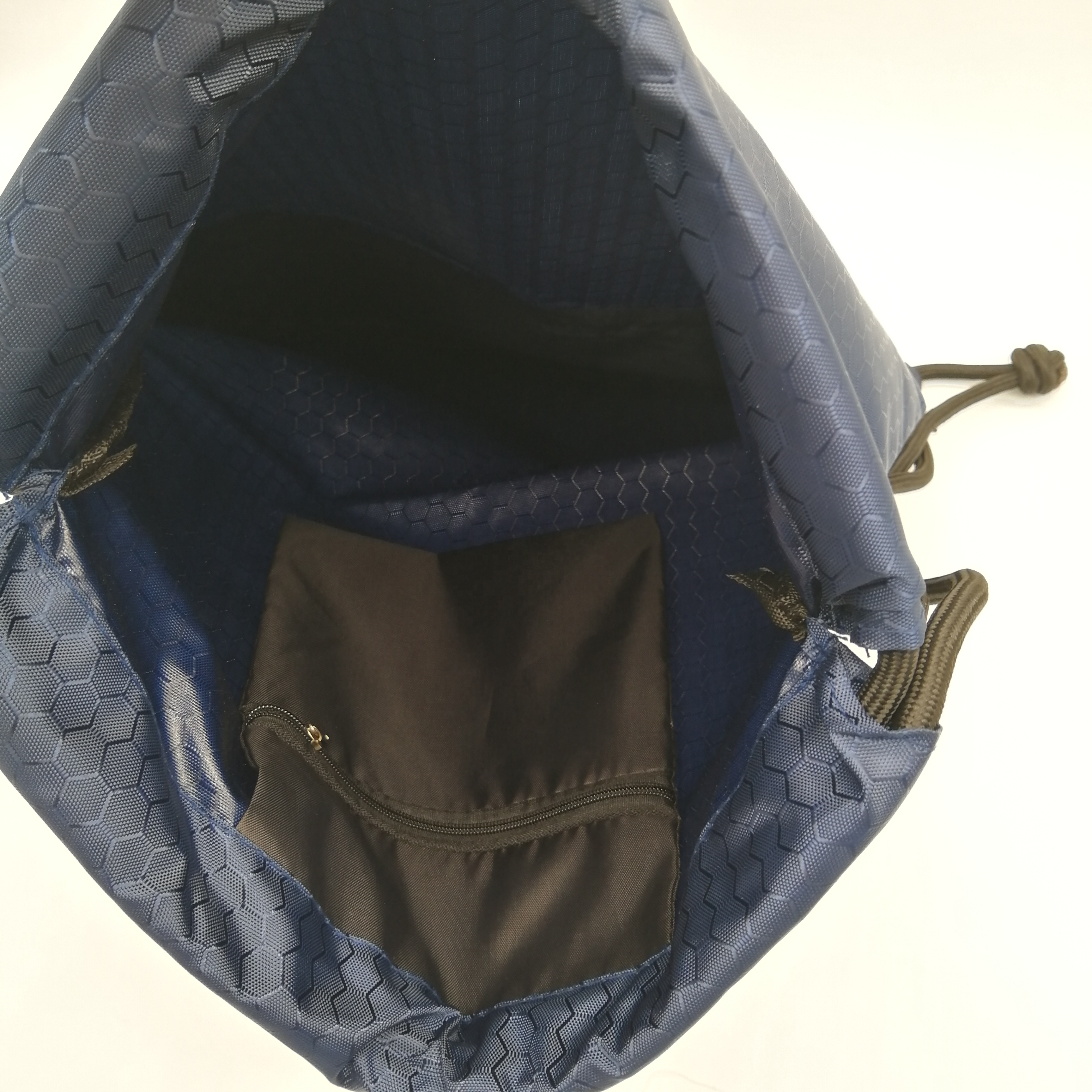 Eco Friendly Promotional 420D Nylon Good Quality Waterproof Drawstring Bag