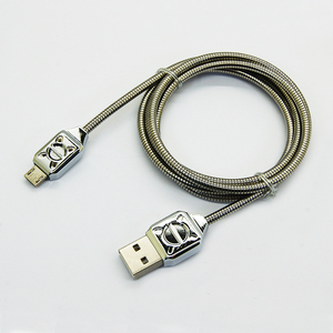 Metal magnetic Hose USB Cable for iphone and V8