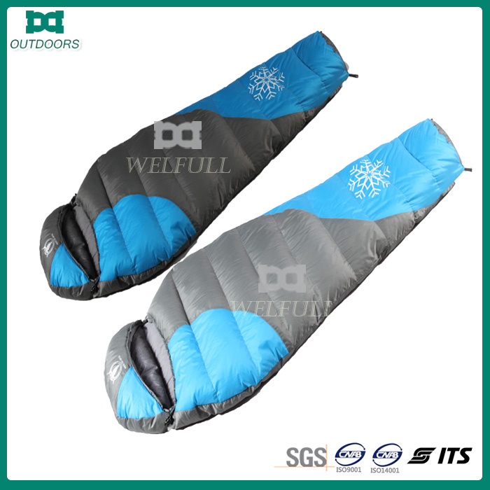 extreme cold weather hiking sleep bag for camping