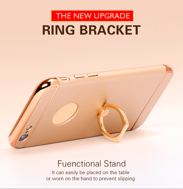 phone accessories ring holder hard case for iphone 7