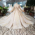 Jancember AHTL247 long sleeve elegant luxury lady dress for wedding boho long trail wedding dress