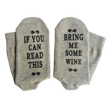 If You Can Read This Bring Me Socks - Beer, Wine, Bacon, Taco, Tea - Funny Novelty Socks Wholesale