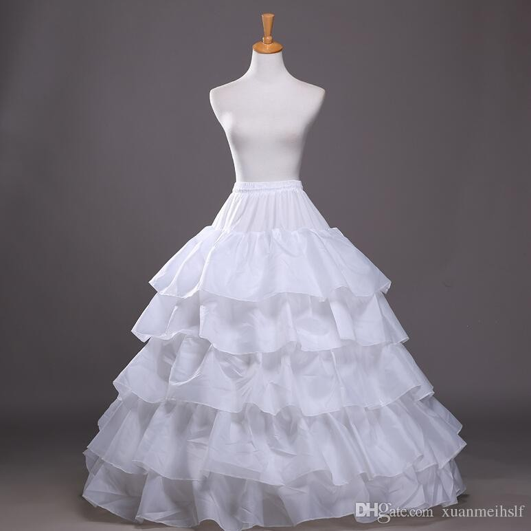 2015 Hot Sale 3 Hoop Ball Gown Petticoats For Wedding
