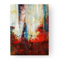 Pure Hand Painted Contemporary Abstract Art Fabric Canvas Oil Painting for Living Room Decor