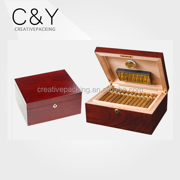 Hot Sale Glossy Packaging Humidor Box Cigar