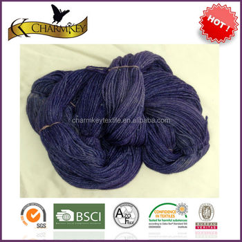 2014 Autumn Hot Sale Glow Dyed Acrylic Blended Wool