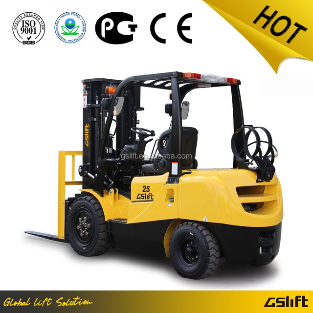 EPA Approval New 2.5 Ton LPG Forklift with Japanese Engine