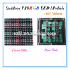 Ultra Bright RGB full color ph10 led display outdoor led display module