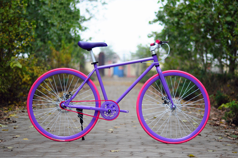 26-inch fixed gear bikes high-carbon steel single speed vehicle fixed gear bikes