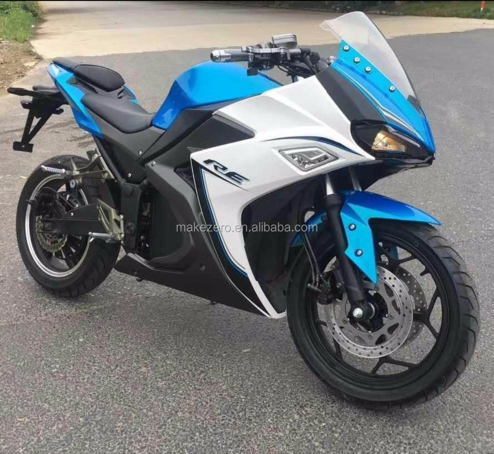 2017 best price super speed adult 3000w electric motorbike for sale