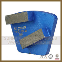 HTC Diamond metal grinding abrasive pad for polishing concrete