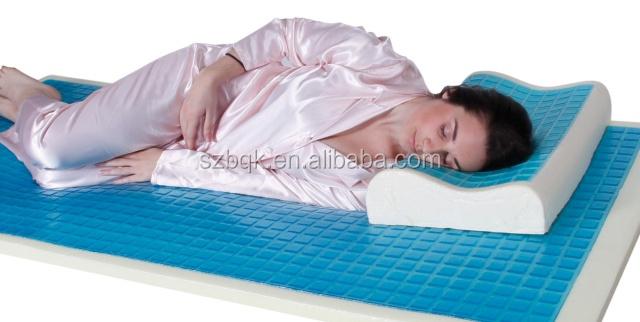 gel matratzenauflage k hlen gel ged chtnisschaumgummimatratze memory foam matratze mit k hlgel. Black Bedroom Furniture Sets. Home Design Ideas