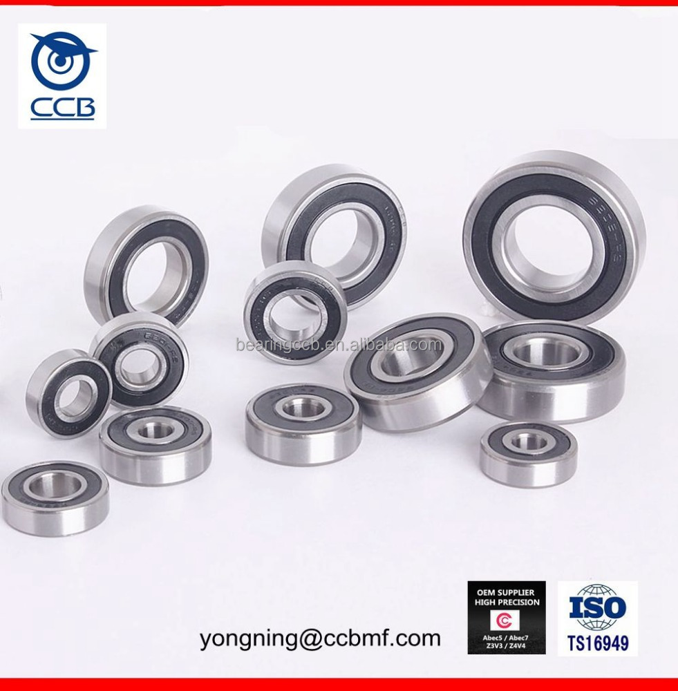 high speed low noise ceiling fan bearing 6203 6204 6205ZZ bearing size
