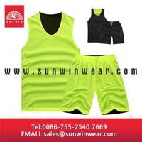 Custom sublimated basketball jersey, yellow color jersey wear, basketball uniforms OEM