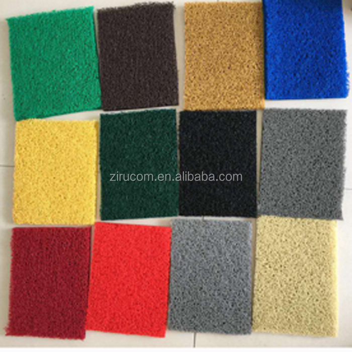 Best selling Anti slip/waterproof home/commercial used PVC coil car mat high quality PVC cushion mat