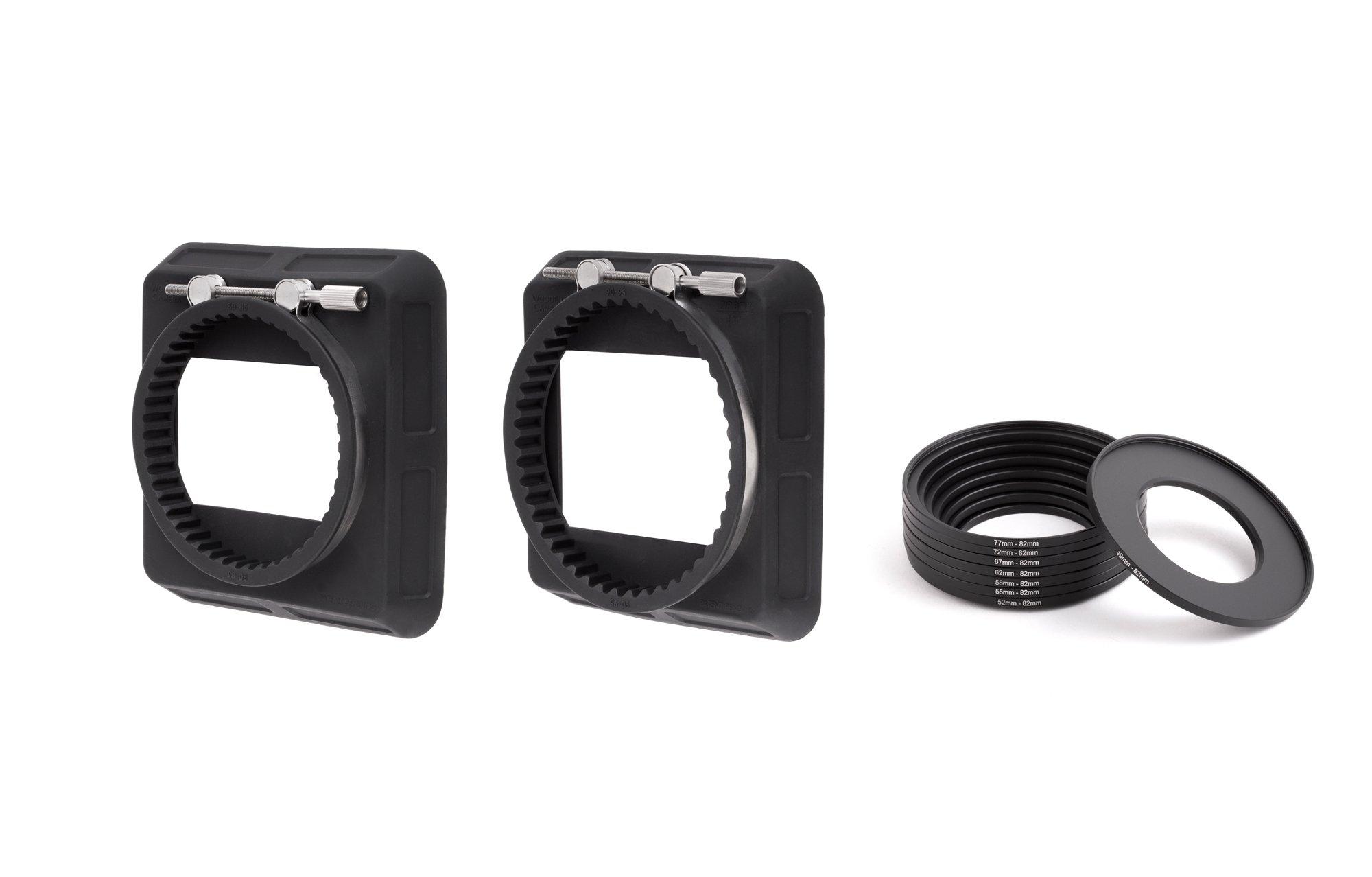 Wooden Camera - Zip Box Kit 4x4 (80-85mm, 90-95mm, Adapter Rings)