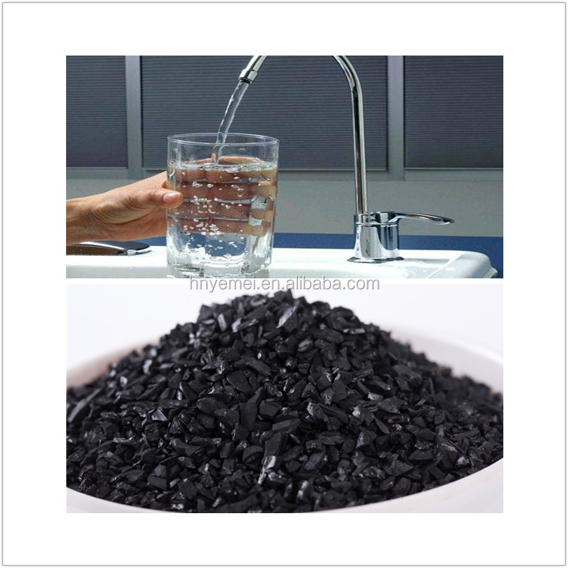 Superior Quality 1000 Iodine Coconut Shell Activated Carbon Granular For Drinking Water Depth Treatment