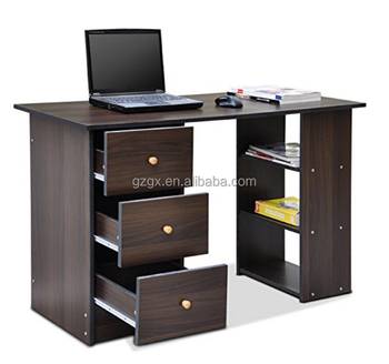 Desk 3 Drawer Home Office Computer Desk Workstation Table Home Furniture