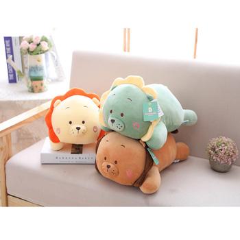 High Grade Fabric Stuffed Plush Pillow For Kids Multi Size Lion Cute